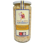 Navarrico Haricot Beans (Alubias), Cooked - 660g